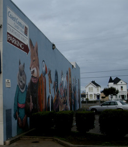 almost missed this downtown Eureka mural as we passed it