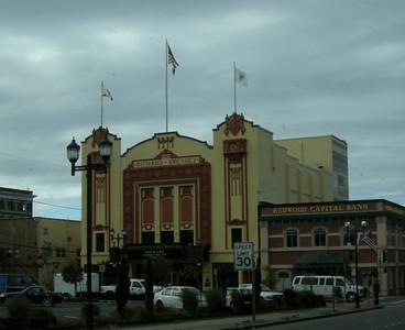 cool theater in downtown Eureka