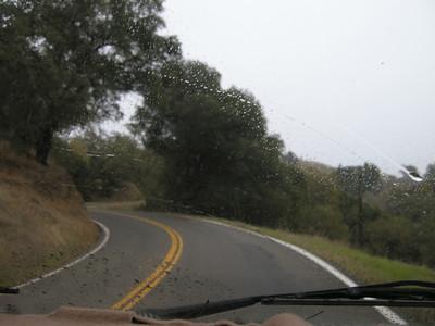 rain and curves.