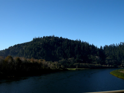 the Klamath River almost to the ocean