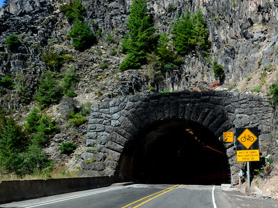 tunnel on the west side of Willamette Pass on hwy 58