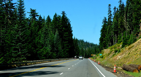 near Odell lake on HWY 58 Willamette Pass