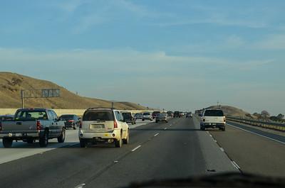 heading south toward San Jose on 280