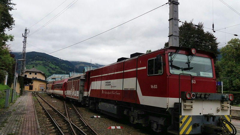 Vs 83 Pinzgauer Lokabahn at Zell Am See,  Austria , B Harkness