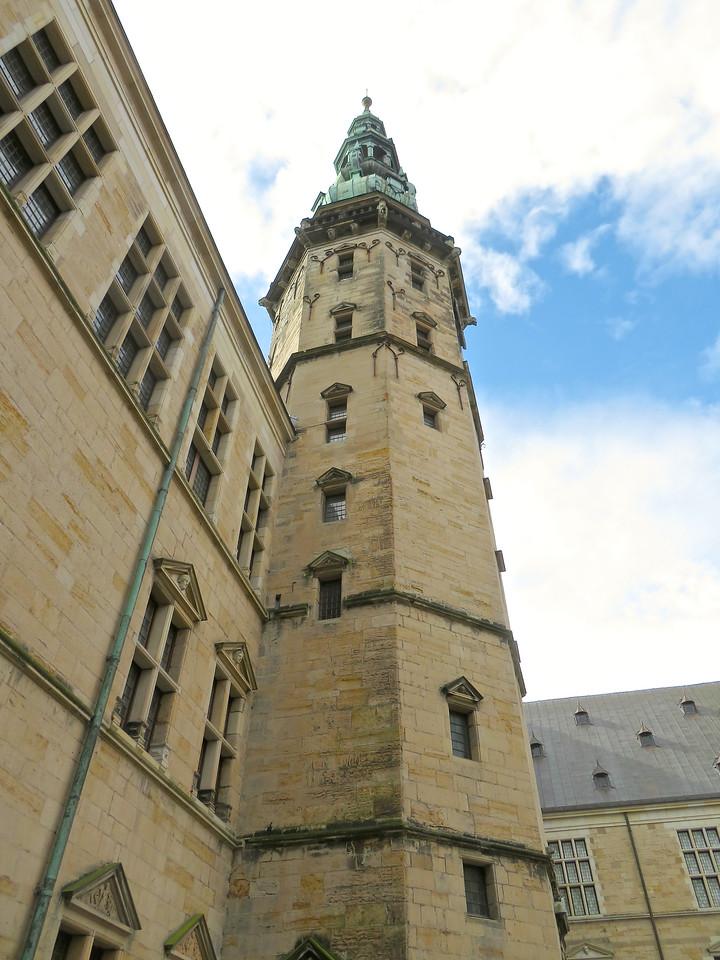 Kronborg Castle Tower, Helsingborg Denmark