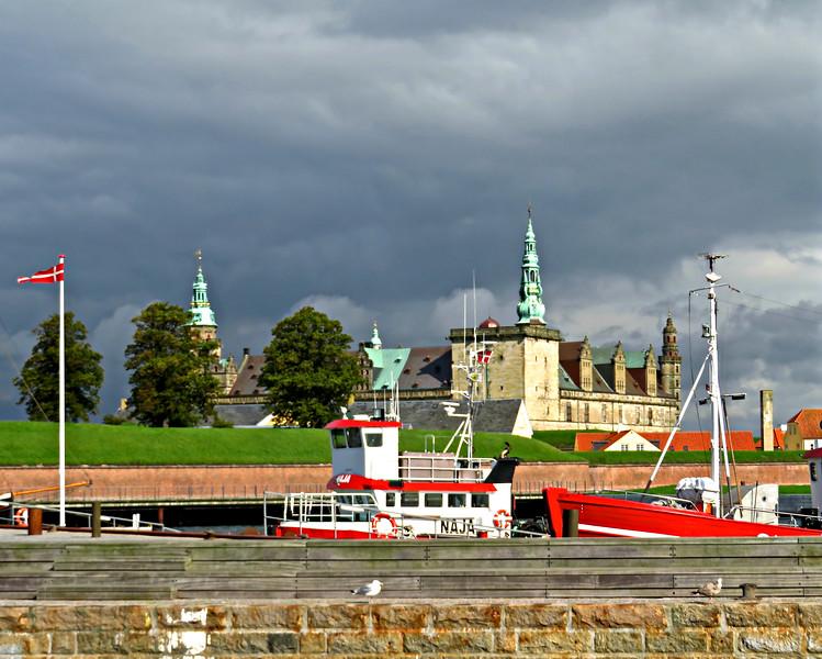 Kronborg Castle Under Stormy Skies, Helsingborg, Denmark