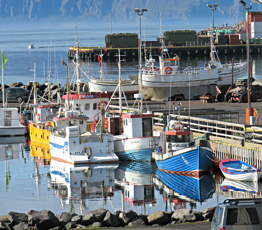 Husavik Fishing Boats, Iceland