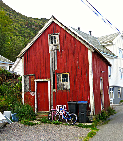 Old Shed on the Island of Godoy, Norway