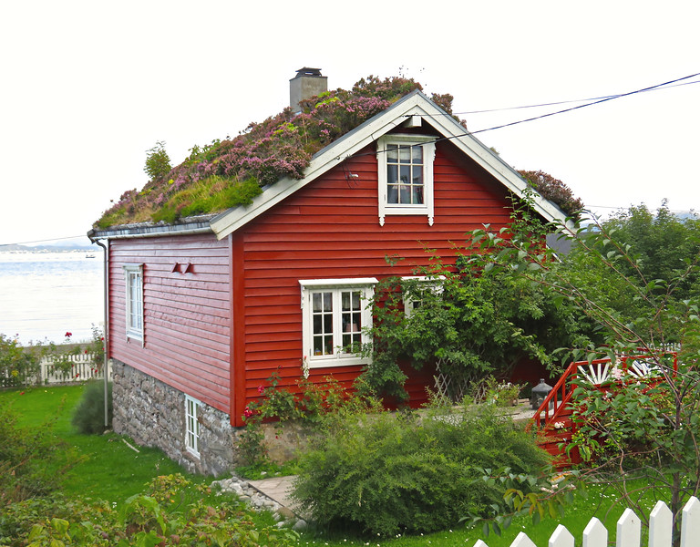 Cottage on the Island of Godoy, Norway