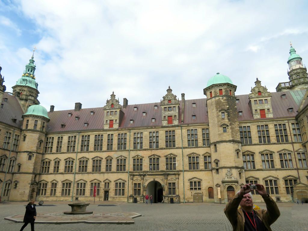 """Kronborg Castle (""""Hamlet's Castle""""), Helsingbork Denmark"""