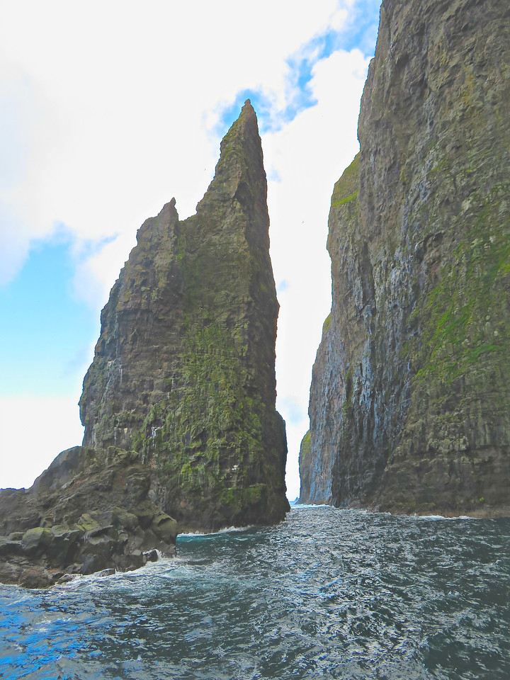 Sea Cliffs at Vestmanna, Faroe Islands