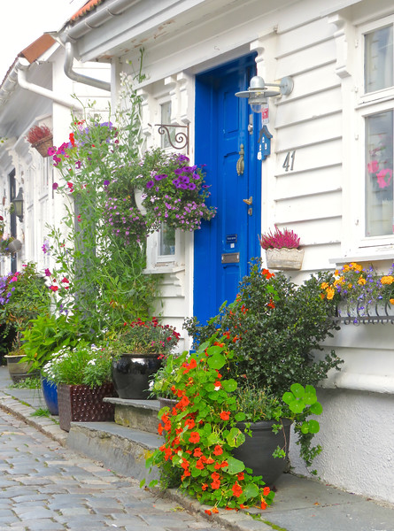 Doorway, Stavanger Norway