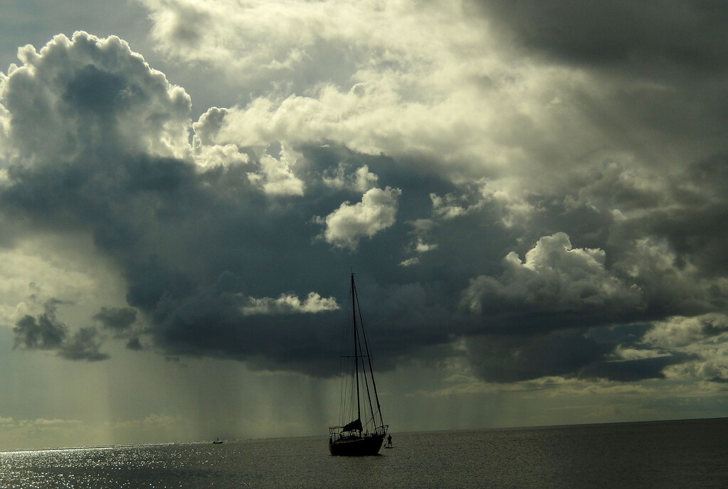 Caribbean Rain Curtain