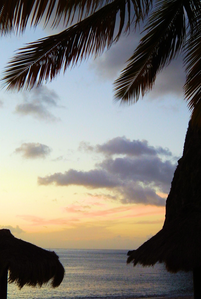 Petit Piton Sunset