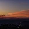 sunrise from Mt. Soledad National Veterans Memorial