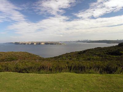 North Head view into Sydney Harbor