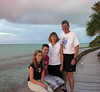 The family - Heron Island - south end of barrier reef