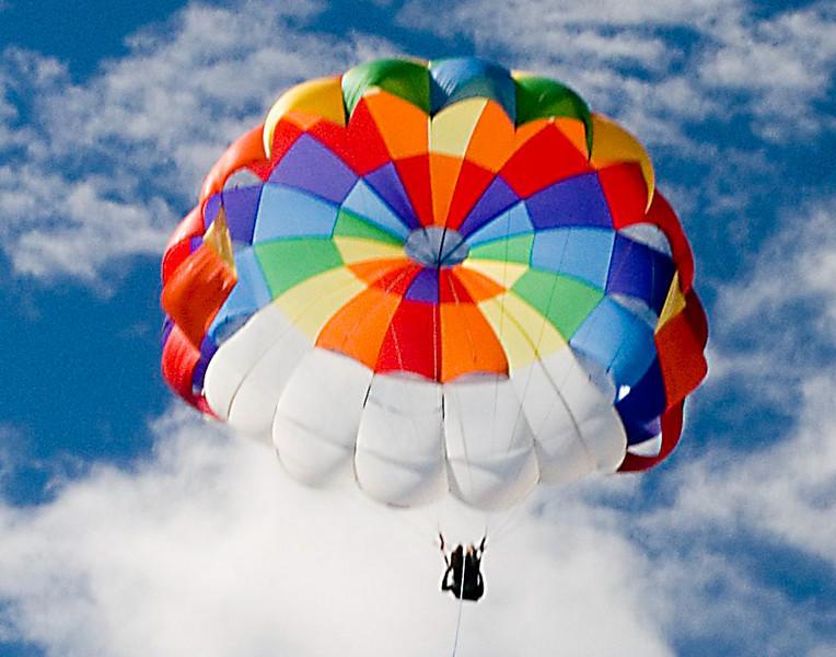 Evan flying