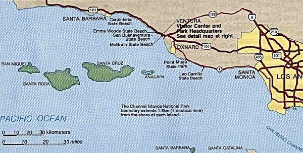 2006-08 Vacation to Santa Cruz Island