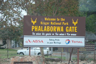 Phalaborwa - entrance to Kruger NP, ZA