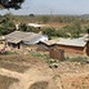 Living Compassion Compound in Kantolomba - View from hill top down to kitchen area