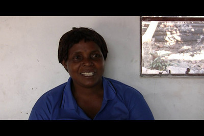 Interview with Georgina at the Living Compassion Compound in Kantolomba, Zambia