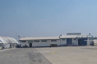 International Terminal at NDola