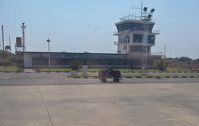 Domestic Terminal at NDola