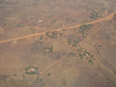 The landscape near NDola