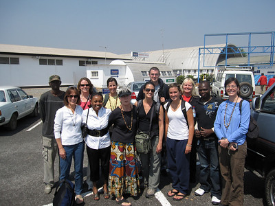 The new guests (and old) to visit Living Compassion in NDola