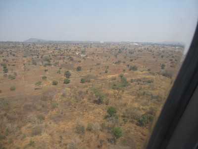 The landscape near NDola