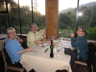 Birthday Dinner at Ventana Restaurant