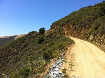 Mtn Bike ride up Sierra Grade on Old Coast Road