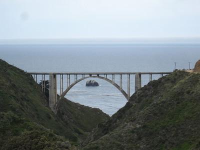 Bixby Bridge - looking west