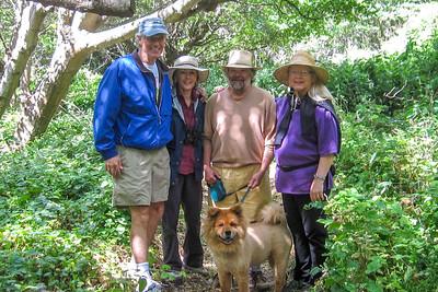 Bob, Jan, Jon, Margaret & Da Bear