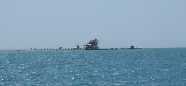 Fishing House on very small island
