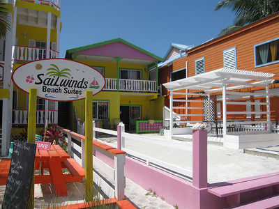 Typical Beachside bungalows