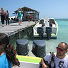 Getting off the water taxi