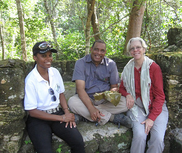 Anabel, Rene and Belize Watch Crew