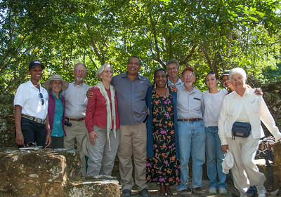 Our group and Belize Watch Crew