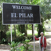 TEntrance to El Pilar, Belize