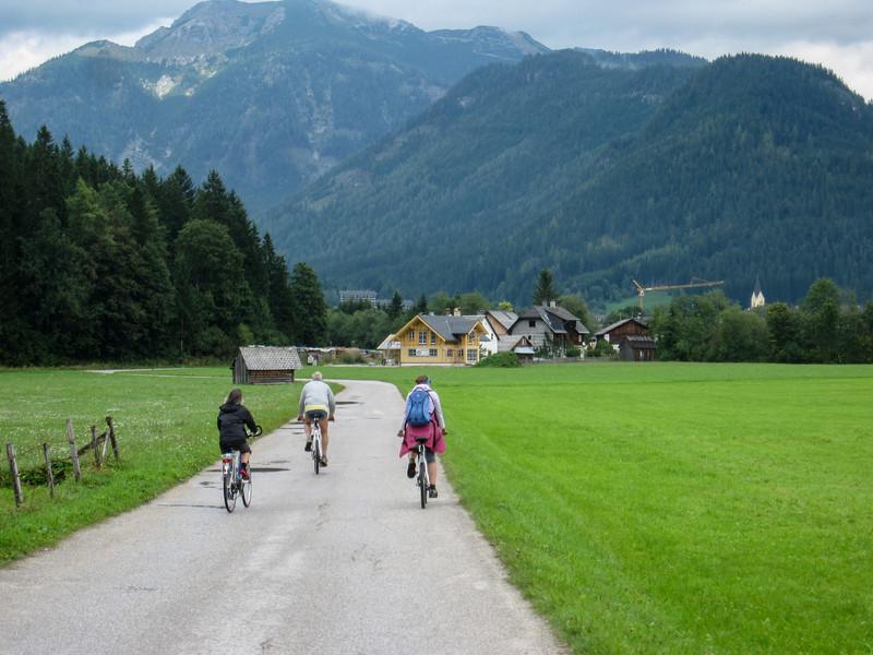 Biking near Bad Mitterndorf