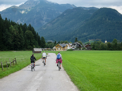 Biking near Bad Mitterndorf