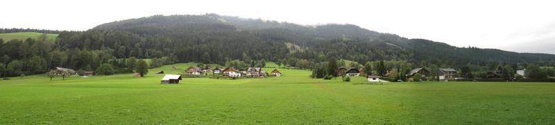 Panorama near Knoppen Austria