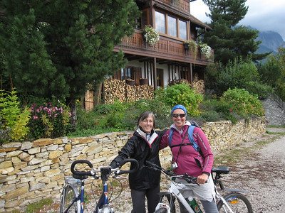 Jan and Sissi at the Blume house