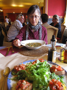 Lunch at the local Trattoria