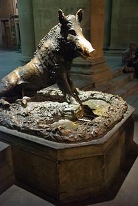 The Porcellino in the Loggia del Mercato Nuovo - rubbing the nose brings good fortune