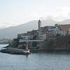 Bastia, Corsica harbor around the bend