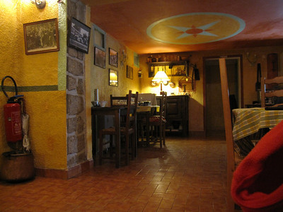 Dinner in Calacuccio