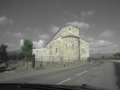 Masoleum near La Marana, just south of Bastia